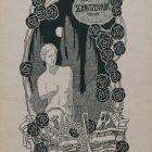 Ex-libris (bookplate) - Mór Schnitzer