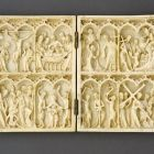Diptych - depicting scenes from Christ's Passion