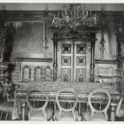 Interior photograph - dining-hall in the Bánffy Palace of Válaszút