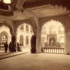 Interior photograph - vestibul on the day of the capston ceremony, Museum of Applied Arts