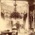 Interior photograph - parlor in the Wenckheim Palace (Reviczky str. 1.)