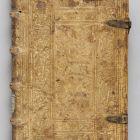 Könyv német reneszánsz kötésben