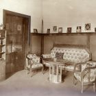 Interior photograph - drawing room in the Schiffer Villa