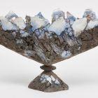 Sculpture - Footed vase