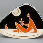 Triangular plate - Mum with child