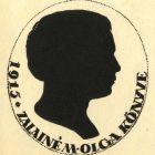 Ex-libris (bookplate) - Olga M. Zalainé