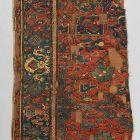 Szőnyegtöredék - Star Ushak Carpet  fragment