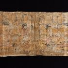 Textile wall covering (fragment)