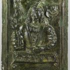 Stove tile - with the bust of a young man