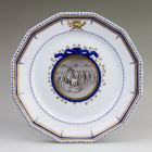 Plate - commemorating the coronation of Francis II, Holy Roman Emperor