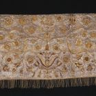 Ceremonial saddle blanket