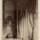 Exhibition photograph - furnishing of the St Stephen's Room of the Royal Palace of Budapest exhibited at the Paris Universal Exposition 1900