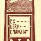 Ex-libris (bookplate) - E. Margitay