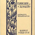 Advertisement card - for Forreider-Schiller's special forged objects