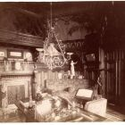 Interior photograph - drawing room in the Emmer Palace, Buda