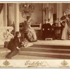Interior photograph - salon in the Emmer Palace, Buda