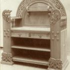 Exhibition photograph - sideboard, Christmas Exhibition of The Association of Applied Arts 1900