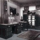 Exhibition photograph - drawing room, Exhibition of Applied Arts at Arad 1905