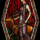 Stained glass - Artemis