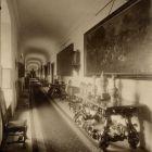 Interior photograph - passage in the Pálffy Palace of Királyfa