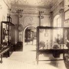 Exhibition photograph - IX. room presenting the Esterházy treasury of Fraknó, Paris Universal Exposition 1900