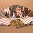 Fan - with scenes from the life of Columbus