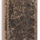 Kéziratos könyv bőrkötésben