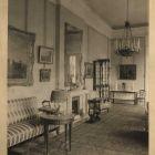 Interior photograph - salon in the Károlyi Palace of Fehérvárcsurgó