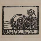 Ex-libris (bookplate) - Ilona Kozma