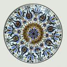 Tál, nagyméretű - with Hungarian motifs