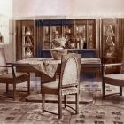 Exhibition photograph - dining room, Exhibition of Interior Design 1912