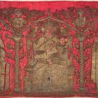 Antependium - from the Benedictine church of Zadar, with the figures of Virgin Mary, Saint Benedict and Saint Chrysogonus