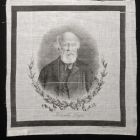 Commemorative kerchief - commemorating the death of Lajos Kossuth