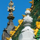 Architectural photograph - detail of the main dome, Museum of Applied Arts
