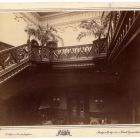 Interior photograph - staircase in the Emmer Palace, Buda