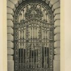 Design sheet - ironwork gate
