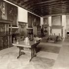 Interior photograph - gallery of ancestors in the Pálffy Castle of Bajmóc