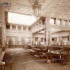 Interior photograph - council chamber, Hungarian General Credit Bank