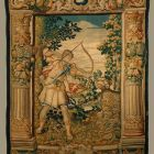 Tapestry - Arcas is about to slay Callisto with an arrow